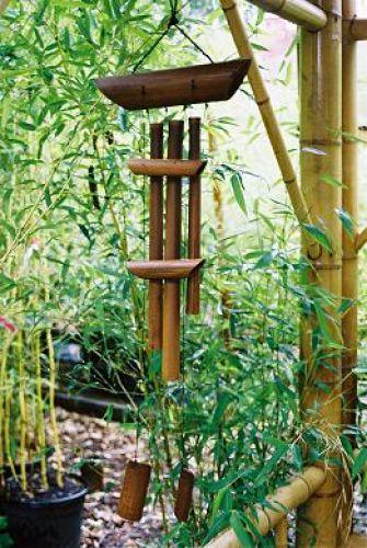 Gartenartikel deko aus bambus bambus kultur for Deko gartenartikel