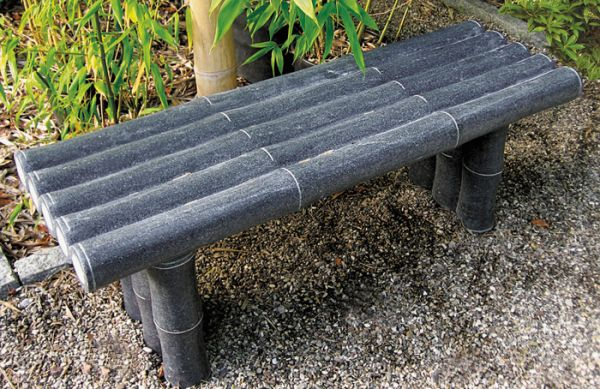 Bambusbank aus Granit