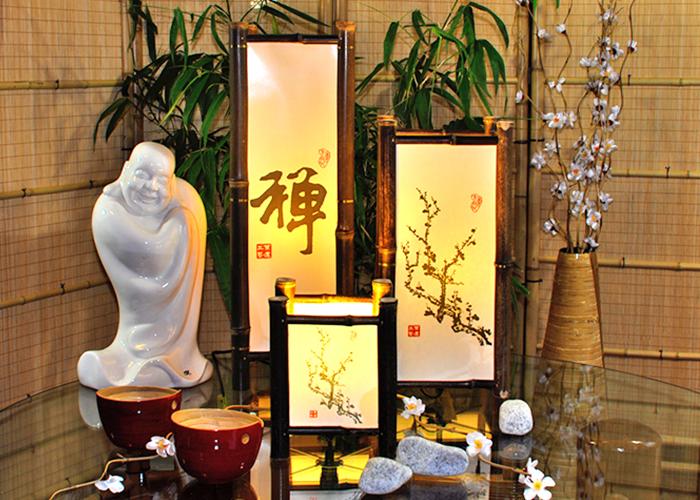Japanische stehlampe affordable mrchenhafte fr ein for Tisch japanisches design