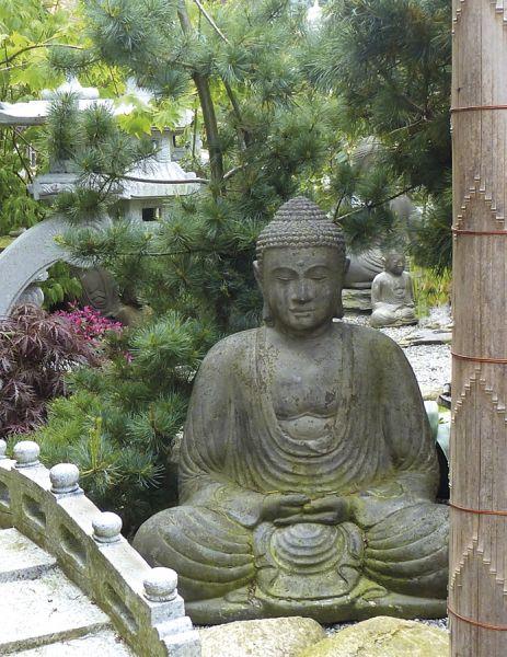 Japanischer Buddha, Lavaguss