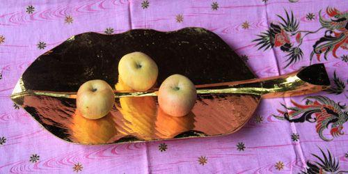 Tablett Bananenblatt