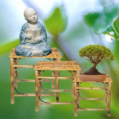 Bambusbeistelltischchen