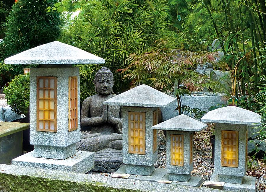 steinlaterne sosakua japanische steinlaternen steinlaternen granit bambus kultur. Black Bedroom Furniture Sets. Home Design Ideas