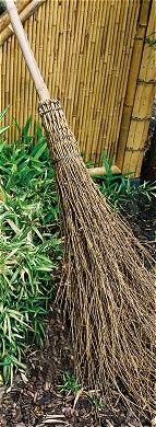 Bambusreisigbesen