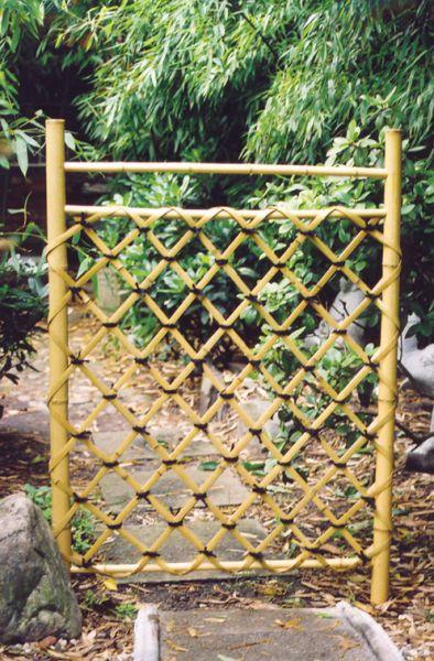 Bambuszaunelement Shiorido