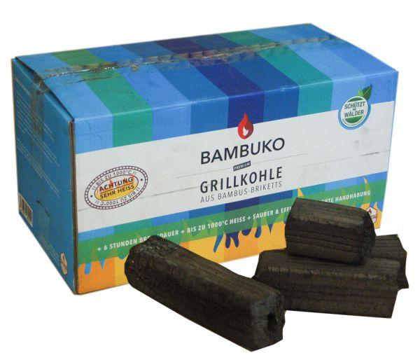 Bambuko Grillkohle aus Bambus