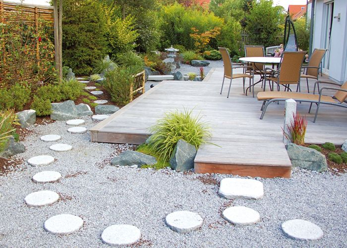 granitplatten garten, granit | bambus kultur, Design ideen