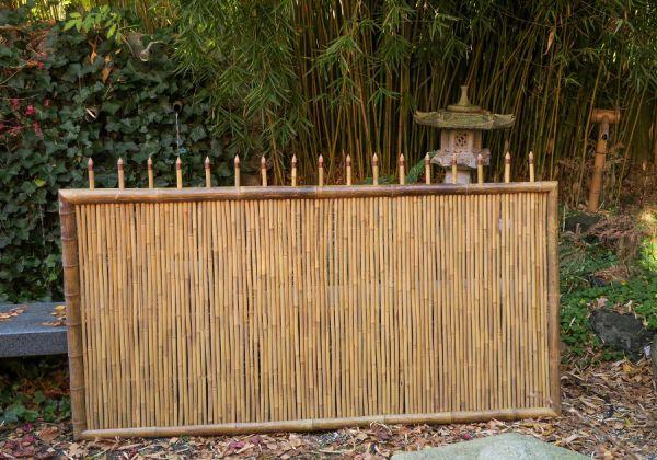Tangshan Zaunelement aus Bambus