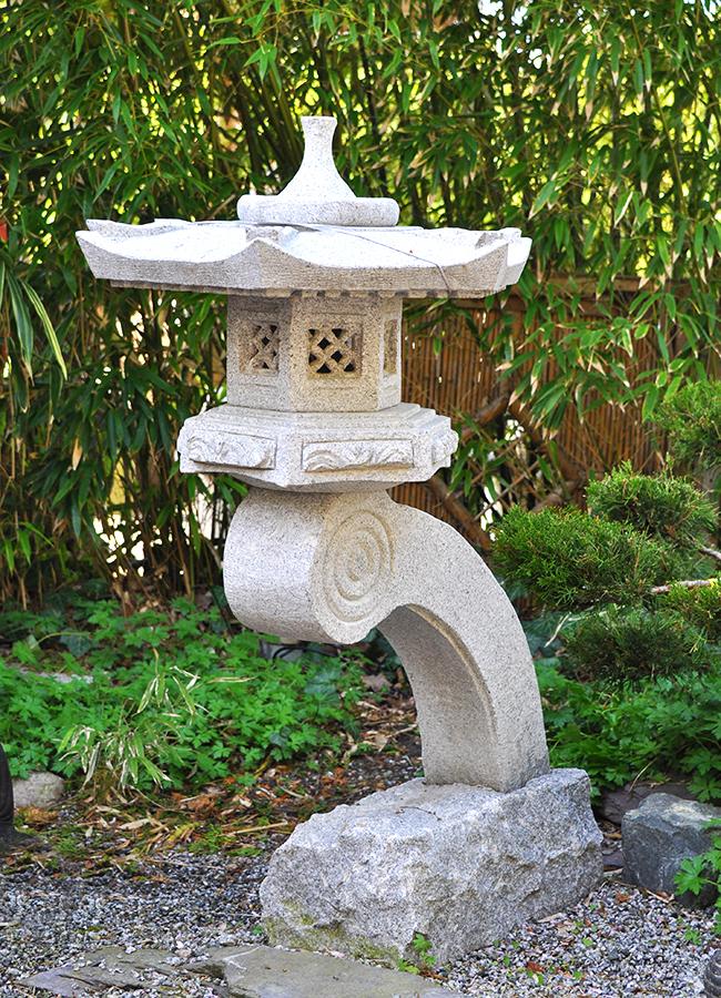 Steinlaterne rankei japanische steinlaternen for Japanische deko garten