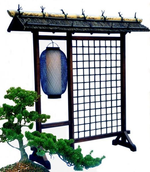 Dangban, Paravant mit Lampe