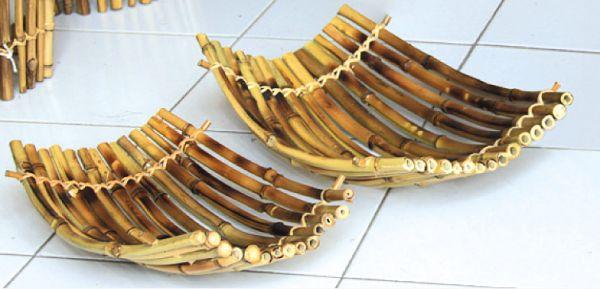 Bambusschalen-Set 2-tlg.