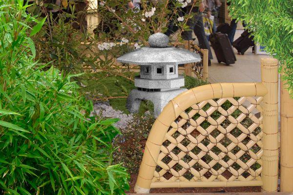Bambuszaunelement Koetsu