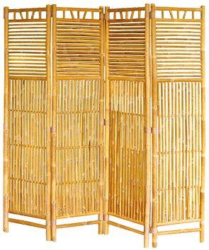 Bambus-Paravent
