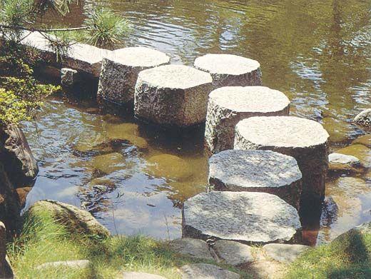 Wassertrittstein