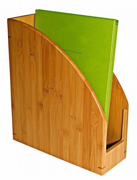 Stehsammler A4 aus Bambus