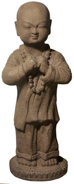 stehender Shaolinmönch, Steinguss