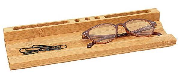 Schreibtisch-Butler aus Bambus