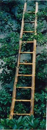 Leiter aus bambus leitern gartenartikel deko for Deko gartenartikel
