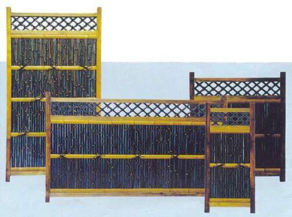 Bambuszaunelement Jawata