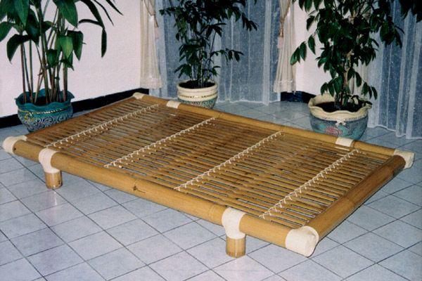 Bambus-Liege / Lattenrost - Ausstellungsstück