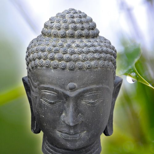 Buddhakopf, Lavaguss