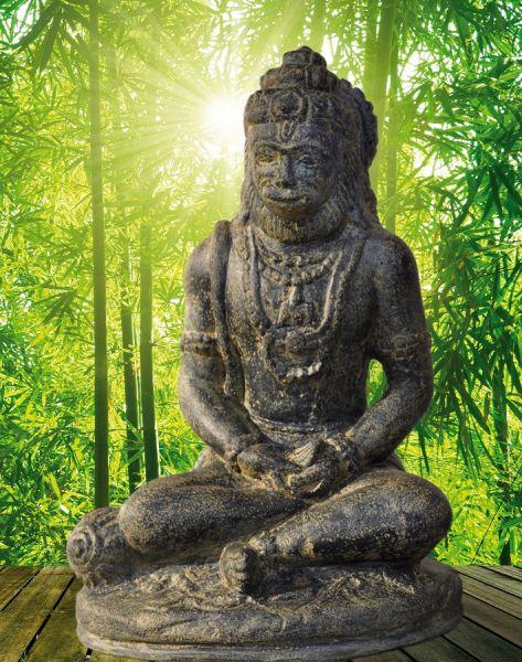 Hanuman aus Steinguss