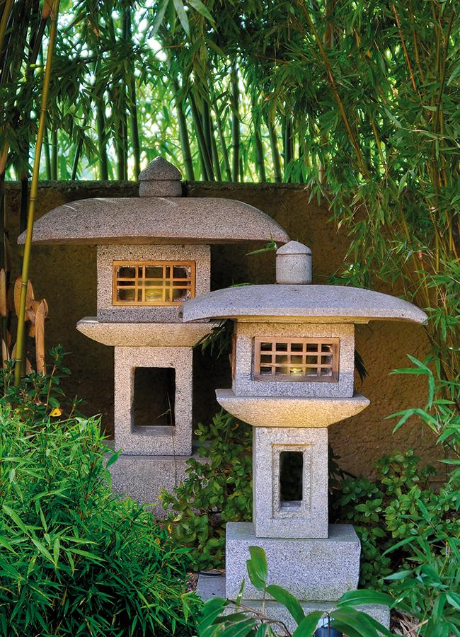 steinlaterne kanjuji japanische steinlaternen. Black Bedroom Furniture Sets. Home Design Ideas