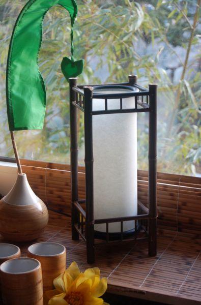Quadro II Bambuslampe