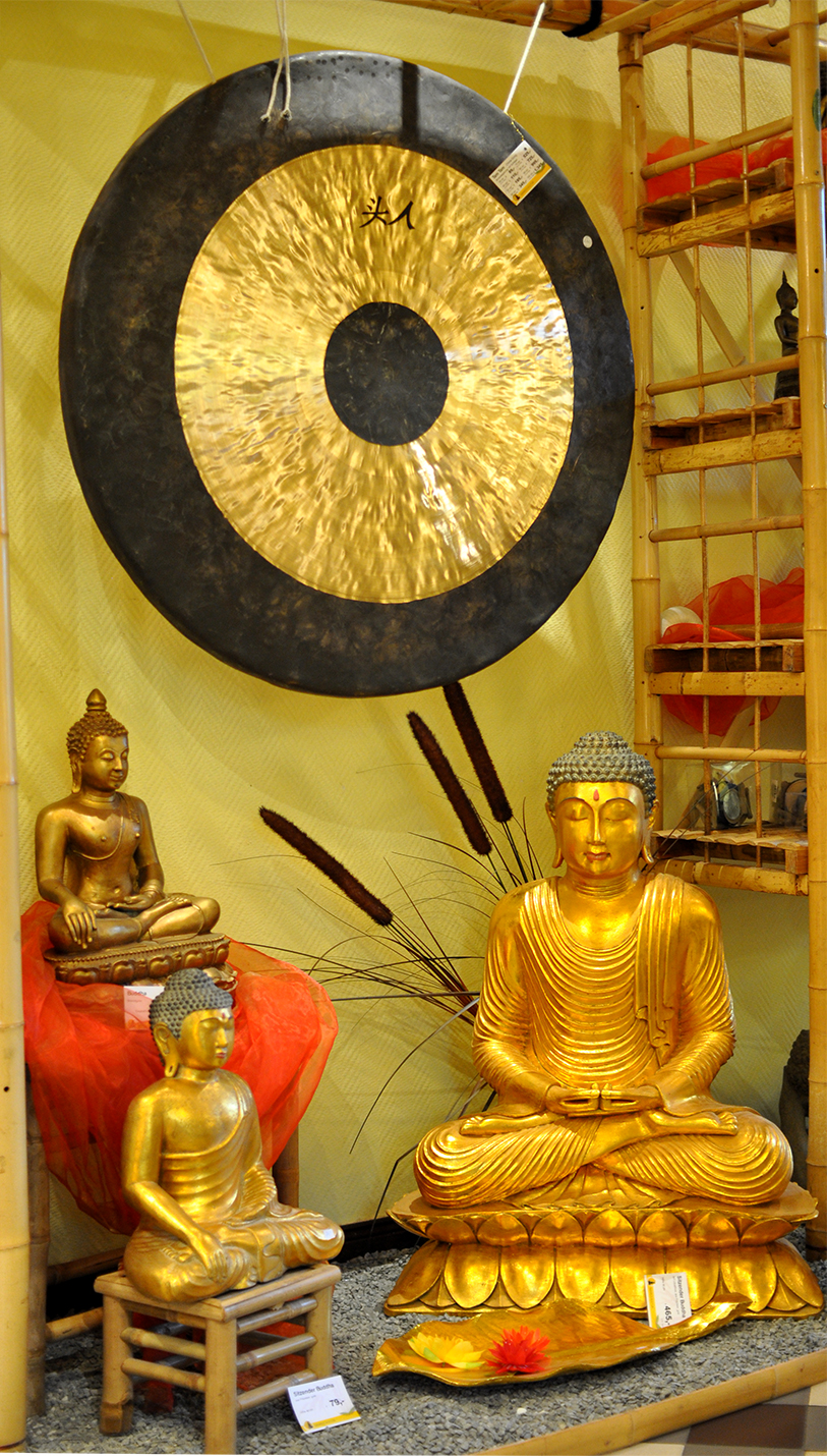 Feng Gongs und Tam Tam Gongs